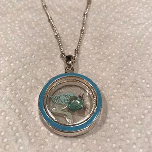 Jewelry - Disney Cinderella Floating Charm pendant Necklace